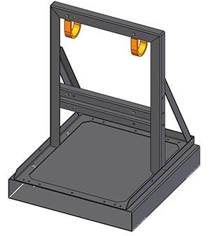REVOLUTION Series Rental Charger Floor Stand